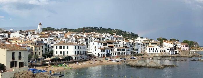 Platja del Port Pelegrí is one of Begur-Tips.