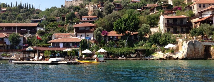 Kaleköy is one of Kaş.