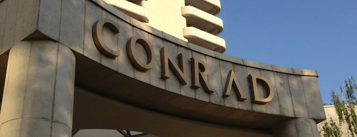 Conrad Istanbul Bosphorus is one of Lugares favoritos de Gurhan.