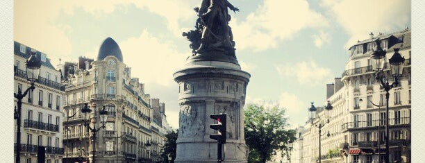 Place de Clichy is one of Paris.