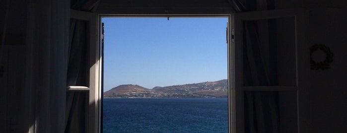 Paros Bay Hotel is one of สถานที่ที่ CherryS ถูกใจ.