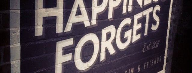 Happiness Forgets is one of Hipster East London.