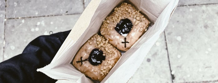 Vegan Crosstown Doughnuts is one of Desserts in London.