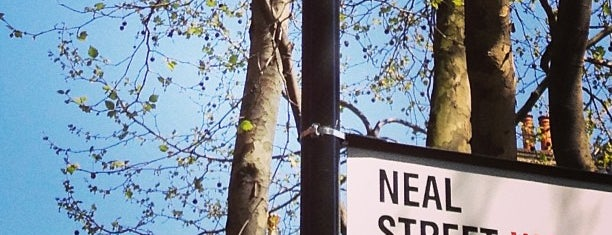 Neal Street is one of LONDON.
