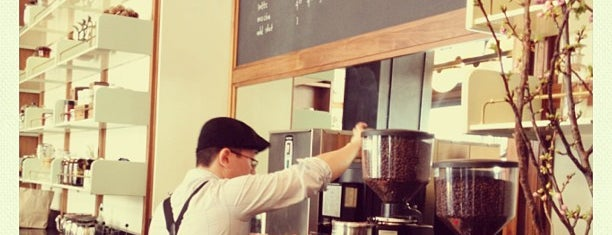 Stumptown Coffee Roasters is one of NYC MENS GUIDE.