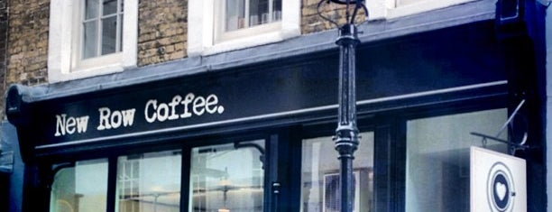 New Row Coffee is one of Specialty Coffee Shops (London).