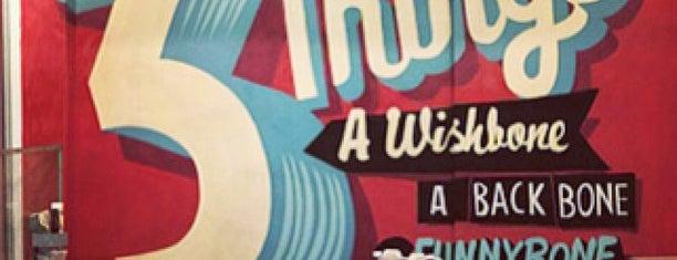 Wishbone is one of Hi, London!.
