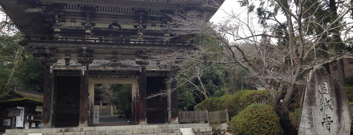 Onjo-ji Temple (Mii-dera) is one of 近江 琵琶湖 若狭.