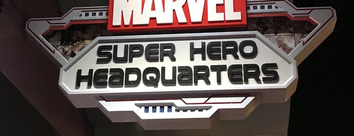 Marvel Super Hero Headquarters is one of Disney Springs.