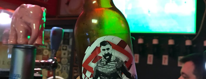 Beer & Beard is one of Крафтовое пиво в Москве.
