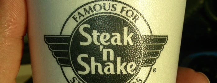 Steak 'n Shake is one of Tiffiany's Liked Places.