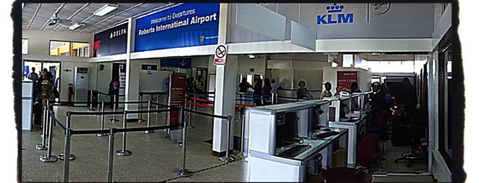 Roberts International Airport (ROB) is one of Free WiFi Airports 2.