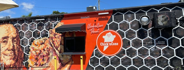 Chick'n Cone is one of Ft lauderdale resto.