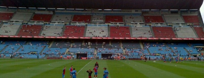 Estadio Vicente Calderón is one of The Great Football Pilgrimage.