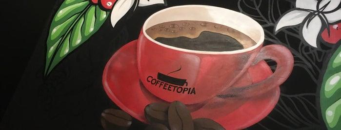 Coffeetopia is one of Locais curtidos por Tarek.