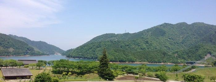 宮ヶ瀬湖畔園地 is one of 神奈川ココに行く! Vol.14.