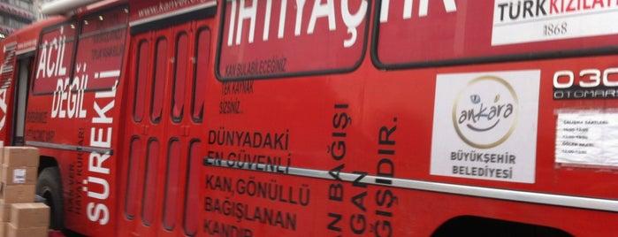 Kızılay Kan Alma Birimi is one of Orte, die Yunus gefallen.