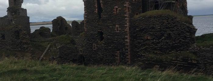 Castle Sinclair Girnigoe is one of Exploring UK.