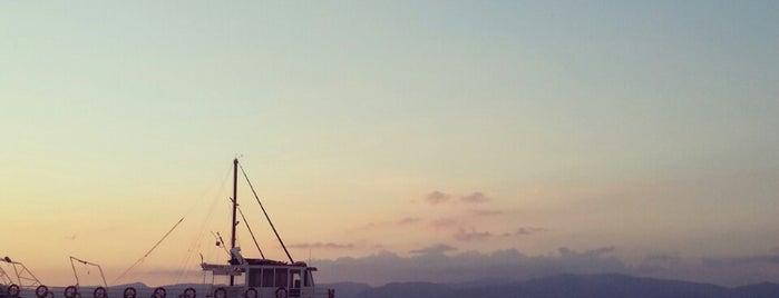 İskele Yat Limanı is one of Tempat yang Disukai Leyla.