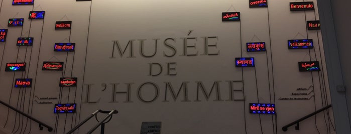 Musée de l'Homme is one of Lugares favoritos de Diana.
