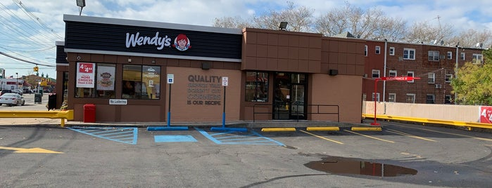 Wendy's is one of RANDOMS around Ny.
