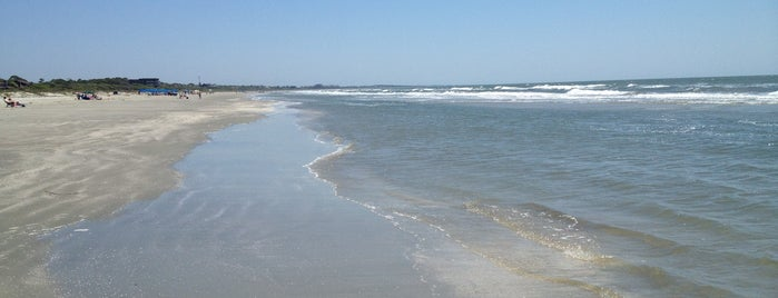 Kiawah Island--West Beach is one of Posti che sono piaciuti a Christopher.