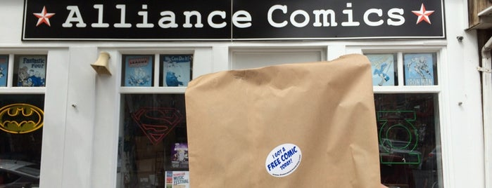 Alliance Comics is one of Charm City.