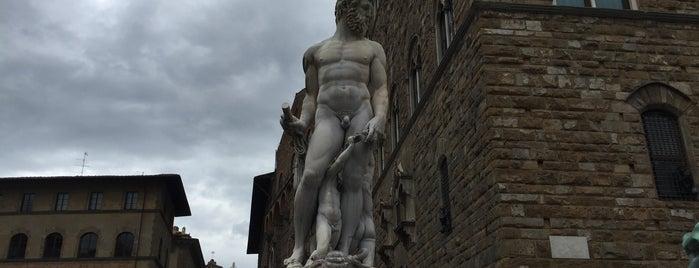 Piazza della Signoria is one of Posti che sono piaciuti a R.