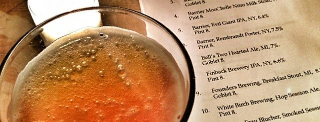 Jimmy's No. 43 is one of NYC Good Beer Passport (2014).