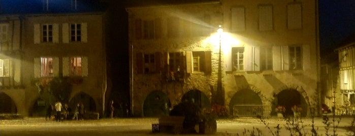 Sauveterre-de-Rouergue is one of Les plus beaux villages de France.