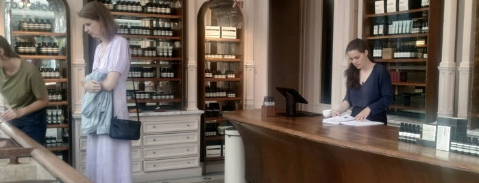 Aesop is one of Amsterdam.