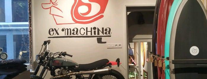 DEUS Ex Machina popup store is one of Amsterdam.
