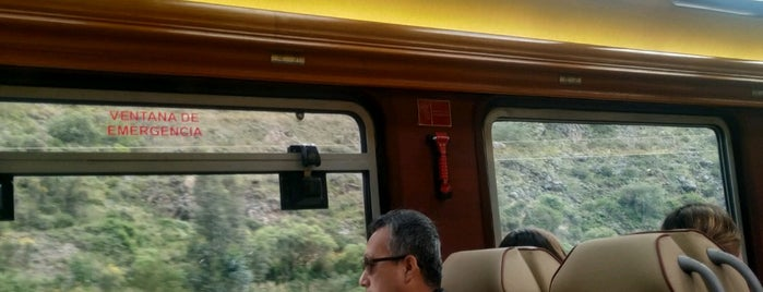 Inka Rail Station is one of Cusco y Matchu Pitchu.