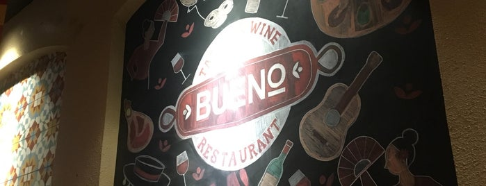 Bueno Tapas And Wine is one of Lugares favoritos de Shank.