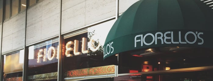 Fiorello's Roman Cafe is one of NYC Fave Restaurants.
