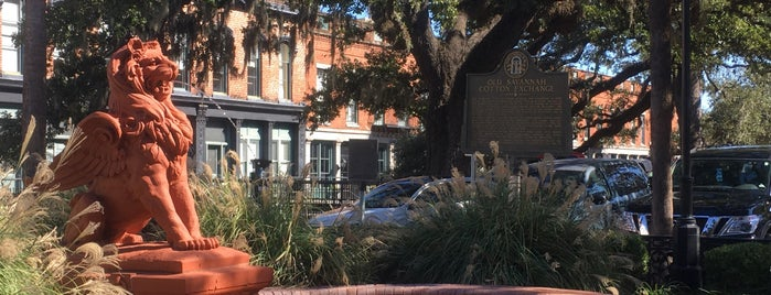 Old Savannah Cotton Exchange is one of Savannah.