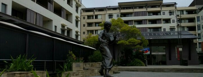 Bruce Lee, King of Kung Fu Statue is one of Australia - Sydney.