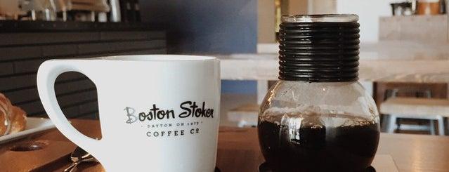 Boston Stoker is one of Columbus coffee.