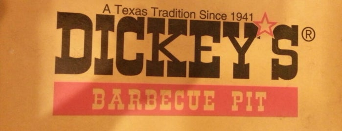 Dickey's Barbecue Pit is one of Bbq.