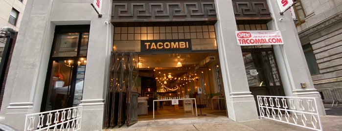 Tacombi Taqueria is one of Locais curtidos por Amanda.