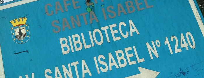 Cafe Literario Santa Isabel is one of once.