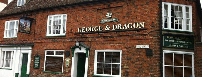 George and Dragon is one of Locais curtidos por Carl.