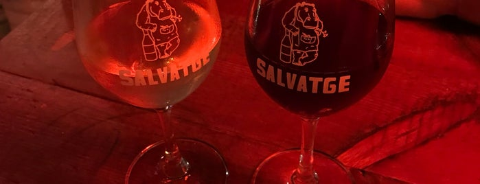 Bar Salvatge is one of bcn.