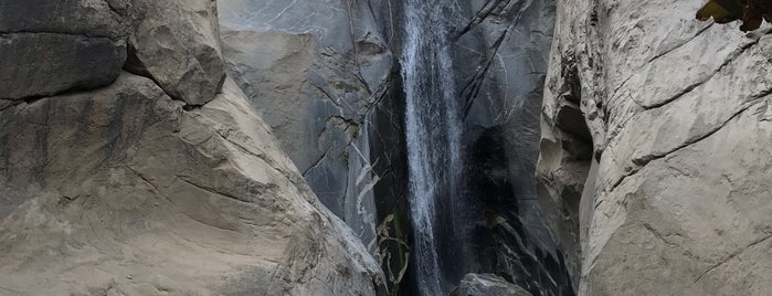 Tahquitz Canyon is one of Palm Spings.