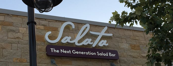 Salata - Round Rock is one of Lugares guardados de Kim.