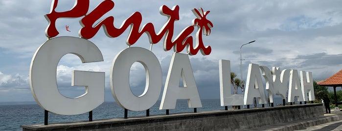 Pantai Goa Lawah is one of Enjoy Bali Ubud.