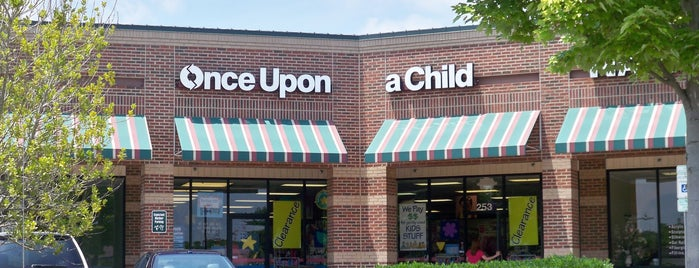 Once Upon A Child is one of Tempat yang Disukai Matthew.