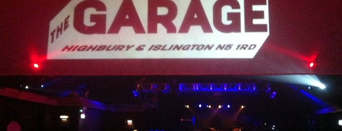 The Garage is one of Best Live Music Venues.