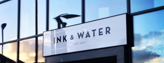 Ink & Water is one of Sheffield.