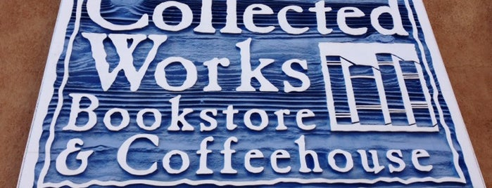 Collected Works Bookstore is one of Santa Fe.